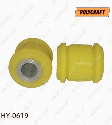 Поліуретановий сайлентблок задньої поперечної тяги (задньої) внутрішній hy0619