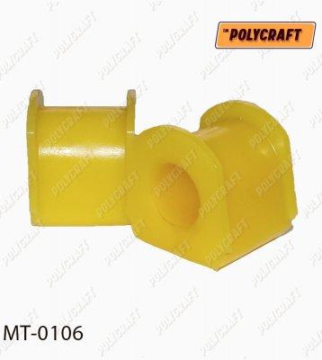 Поліуретанова втулка стабілізатора (заднього) D=21 mm.   mt0106