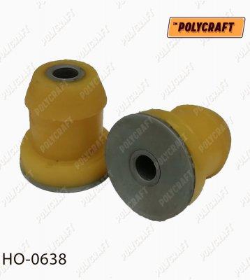 Полиуретановый сайлентблок рычага переднего верхнего (устанавливать во втулку старого сайлентблока) ho0638