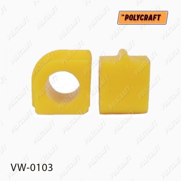 Полиуретановая втулка стабилизатора (переднего) внутренняя D = 22,6 mm. 701411041