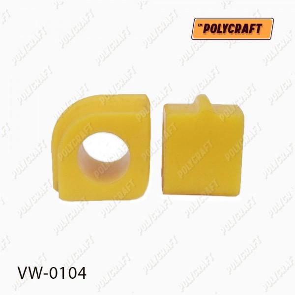 Поліуретанова втулка стабілізатора (переднього) внутрішня D=20,5 mm. (ремонтна)  701411041