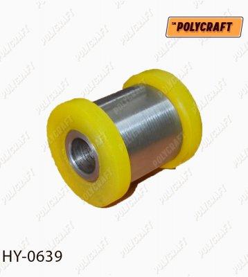 Полиуретановый сайлентблок заднего продольного рычага (крепление к цапфе) hy0639