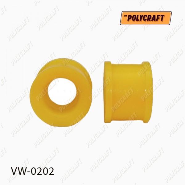 Полиуретановая втулка стойки стабилизатора переднего (верхняя) к стабилизатору D = 24 mm.