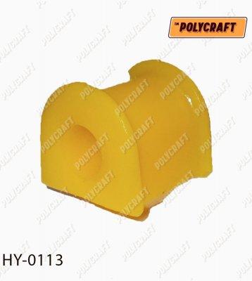 Полиуретановая втулка стабилизатора (переднего) D = 19 mm. hy0113