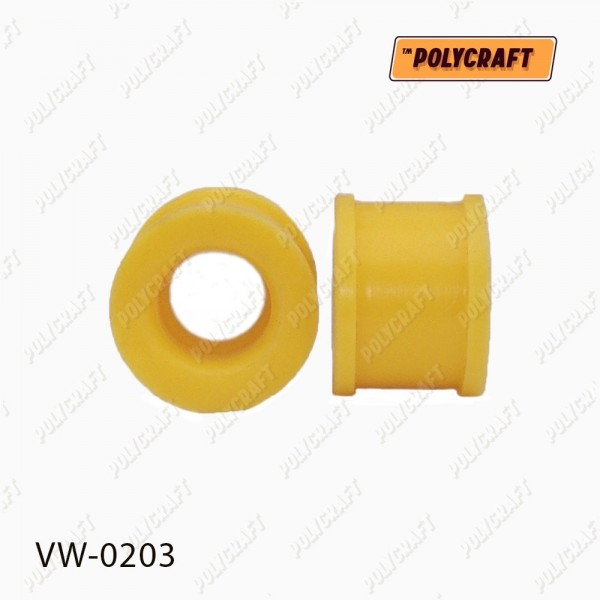 Поліуретанова втулка стійки стабілізатора переднього (верхня) до стабілізатора D=22 mm. (ремонтна)