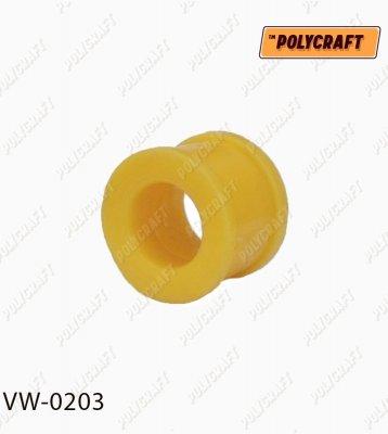 Поліуретанова втулка стійки стабілізатора переднього (верхня) до стабілізатора D=22 mm. (ремонтна)  vw0203