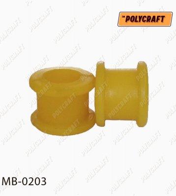 Поліуретанова втулка стійки стабілізатора переднього (верхня)   mb0203