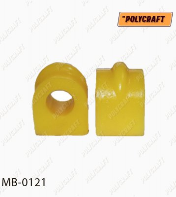 Поліуретанова втулка стабілізатора (заднього)  D=15,5/15 mm.  mb0121