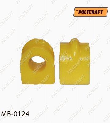 Поліуретанова втулка стабілізатора (заднього)  D=17,5 mm.  mb0124