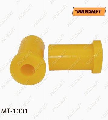 Полиуретановая втулка рессоры задней (верхняя) mt1001
