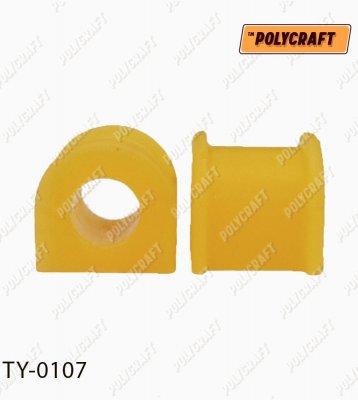 Поліуретанова втулка стабілізатора (заднього) D=24 mm.   ty0107