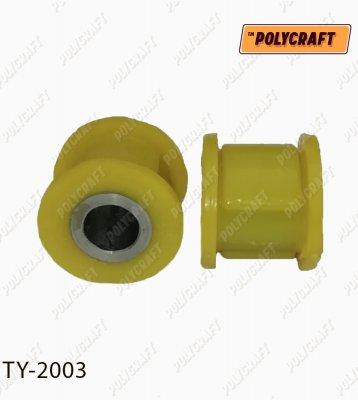 Комплект полиуретановых сайлентблоков (2 шт) рулевой рейки ty2003
