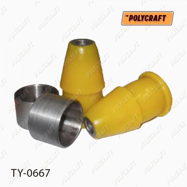 Полиуретановый сайлентблок рычага переднего нижнего заднего (внутренний)