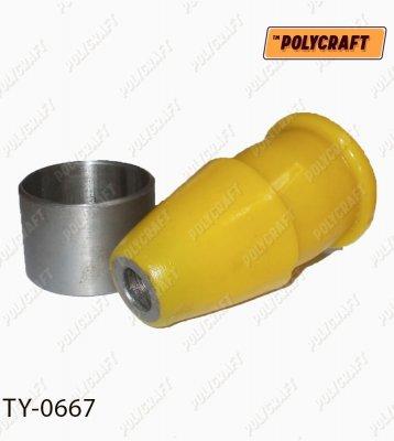 Полиуретановый сайлентблок рычага переднего нижнего заднего (внутренний) ty0667