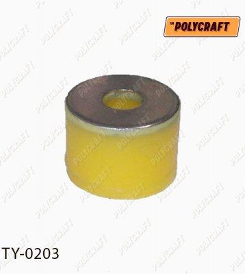 Полиуретановая втулка стойки стабилизатора (заднего) нижняя ty0203