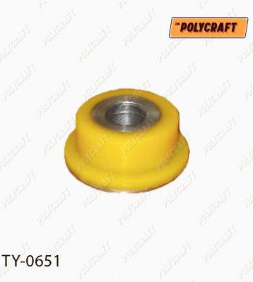 Поліуретановий сайлентблок заднього повздовжнього важеля (задній) кріплення до ступиці   ty0651