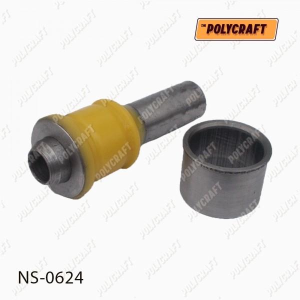 Полиуретановый сайлентблок переднего подрамника (задний) L=112 мм.