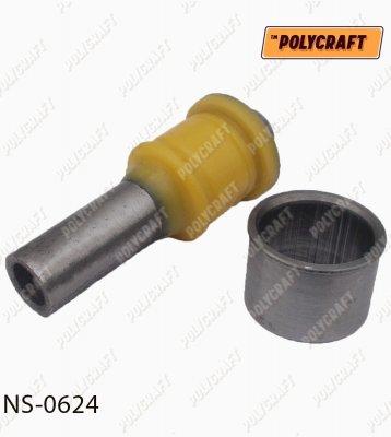 Полиуретановый сайлентблок переднего подрамника (задний) L=112 мм. ns0624