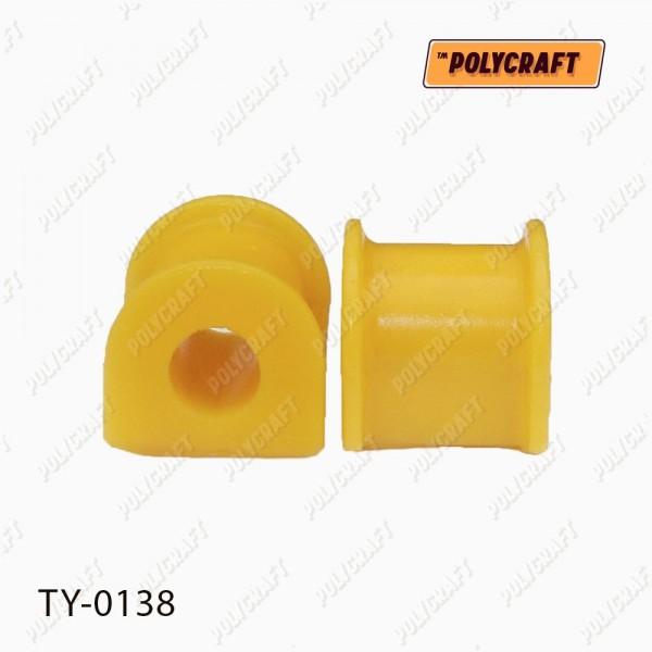 Поліуретанова втулка стабілізатора (переднього) D=19 mm.