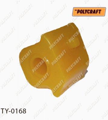 Поліуретанова втулка стабілізатора (переднього) права D=23,2 mm.   ty0168