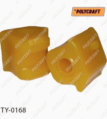 Полиуретановая втулка стабилизатора (переднего) права D = 23,2 mm. ty0168