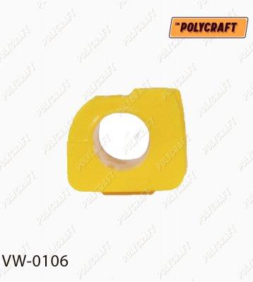 Полиуретановая втулка стабилизатора переднего (правая) D = 22,5 мм. vw0106