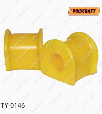 Полиуретановая втулка стабилизатора (переднего) D = 23 mm. ty0146