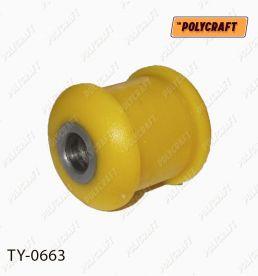ty0663 Полиуретановый сайлентблок задней подвески, верхнего изогнутого рычага (внутренний)