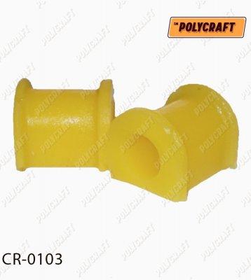 олиуретановая втулка стабилизатора (заднего) D = 19 mm. cr0103