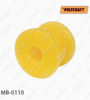 Поліуретанова втулка стабілізатора (переднього) зовнішня D=18 mm.   mb0110