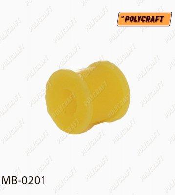 Поліуретанова втулка стійки стабілізатора (переднього) D=13,5 mm. (верхня та нижня)    mb0201