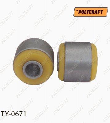 Полиуретановый сайлентблок заднего стабилизатора (внешний) ty0671